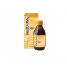 Haliborange integratore vitaminico con olio di fegato di merluzzo e succo d'arancia 150ml - tonicità psico-fisica e la memoria