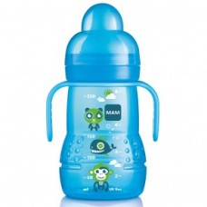 MAM Trainer 220ml 4+ mesi blu