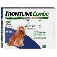 Frontline Combo Cane 10-20 kg 3 pipette