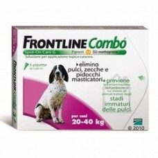 Frontline Combo Cane 20-40 kg 3 pipette