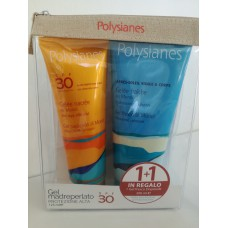 POLYSIANES GEL MADREPERLATO SPF 30 125 ML + GEL DOPOSOLE OMAGGIO 200 ML