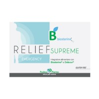 GSE' BIOSTERINE RELIEF SUPREME EMERGENCY 12CP