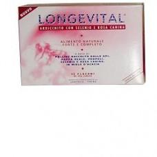 Longevital forte integratore di pappa reale, rosa canina e polline 15 flaconinci